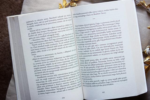 本を読むこと